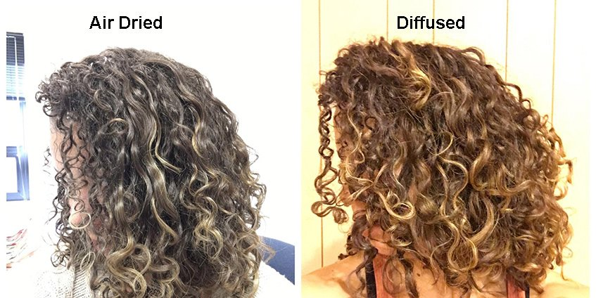 Hairstyling Tip: To Perfectly Diffused Hair